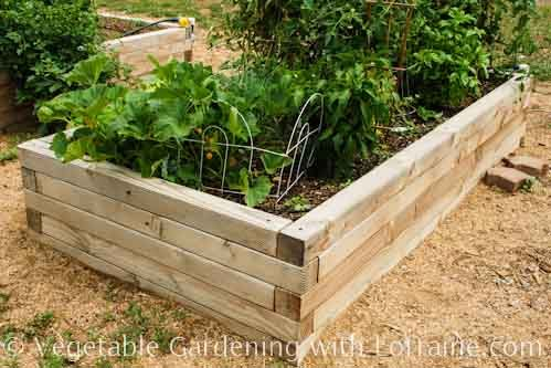 The Inspiration Raised Beds Made Out Of 4x4 Lumber Vegetable