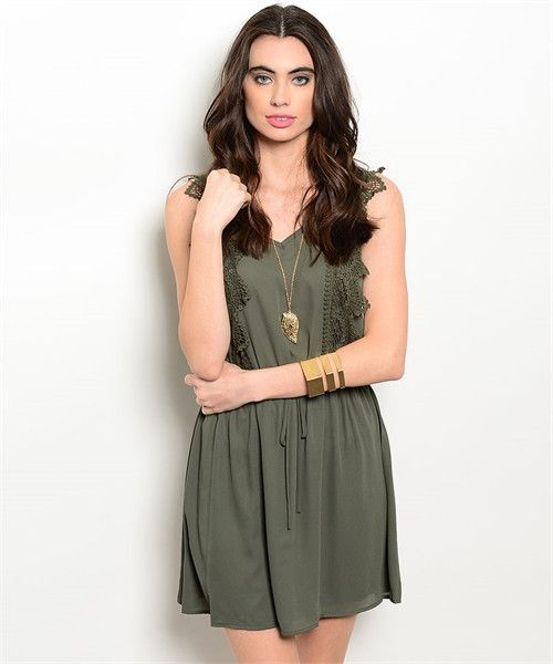 Beautiful Olive Dress