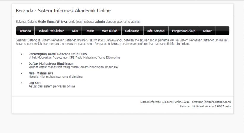 Download Source Code Sistem Informasi Kampus Berbasis Web Aplikasi Mahasiswa Baik Hati