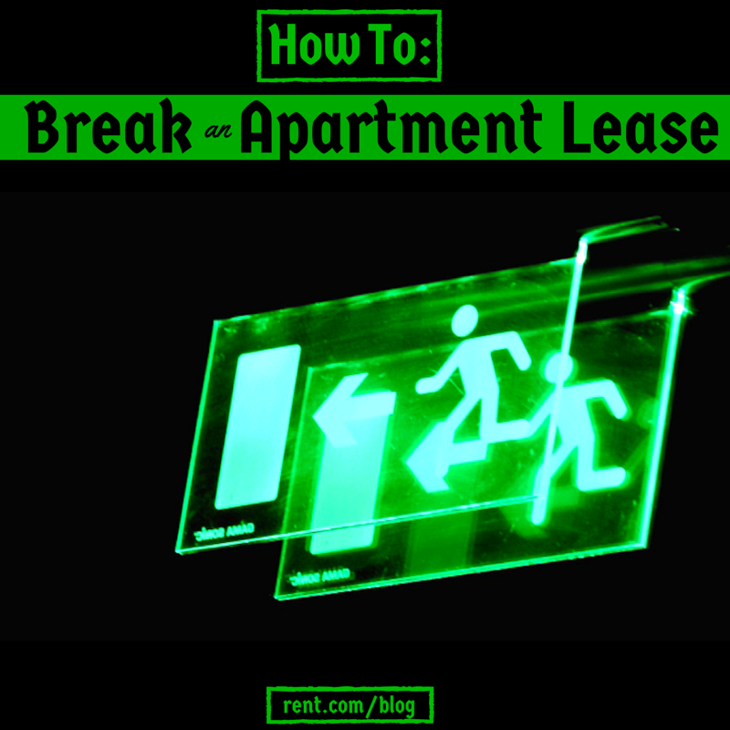 Rent Com Sign In: How To Break A Lease On Your Apartment