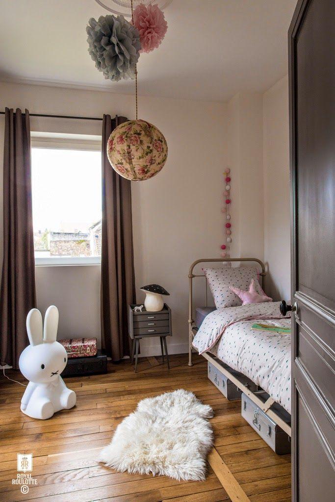 Une chambre de fille simple et chaleureuse.   Tilly\'s bedroom ...