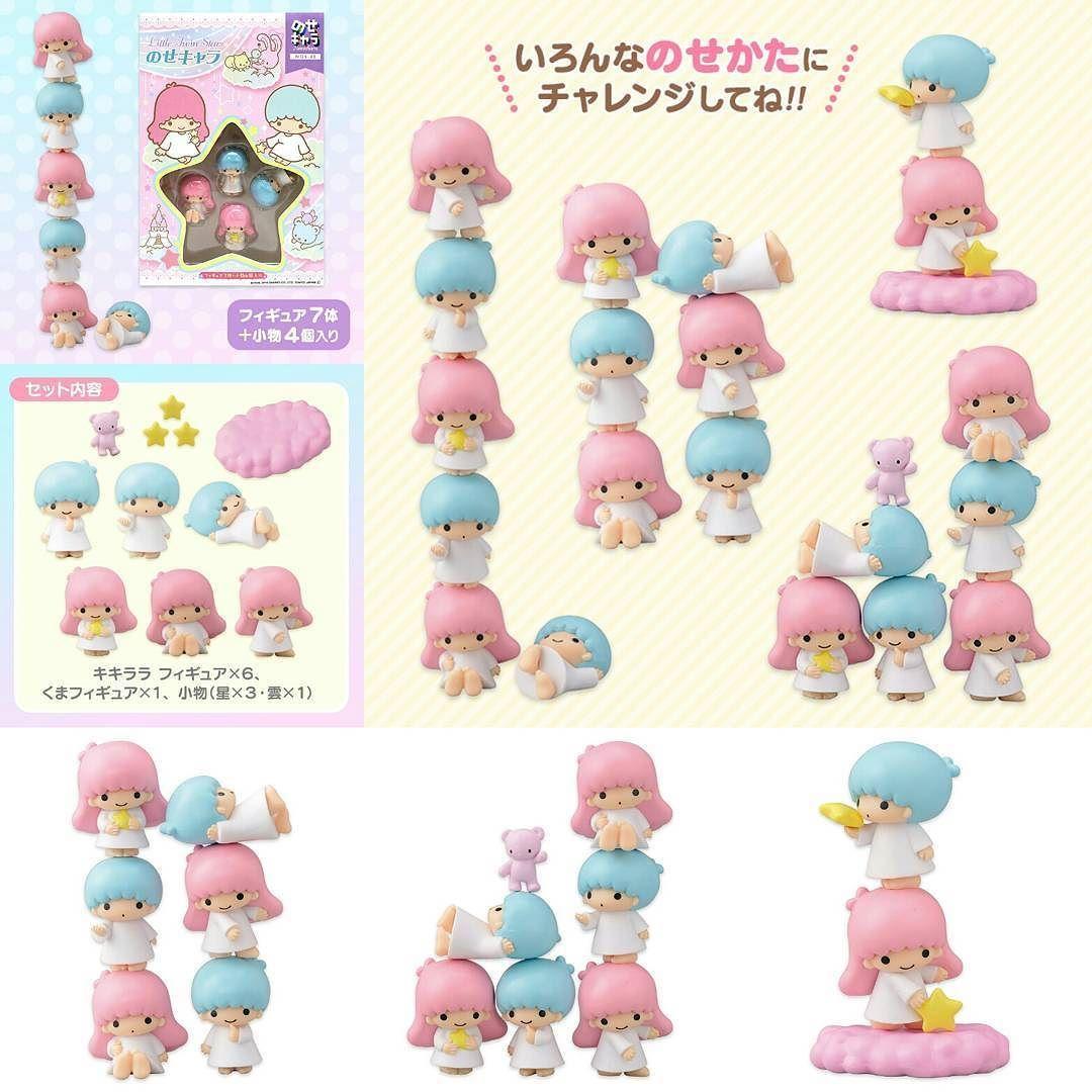 Little Twin Stars 小擺設 價錢: HK$252 尺寸 約W3D2.5H3.5cm 配件 Little Twin Stars6個熊x1隻星3顆雲1片共11件 好可愛 #Sanrio # ...