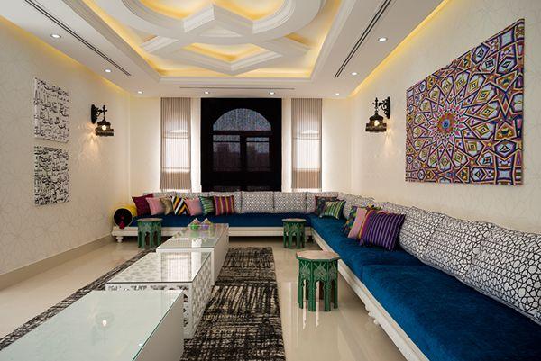 My work for done interior by noor bin eidan restaurent - Marokkanische wohnzimmer ...