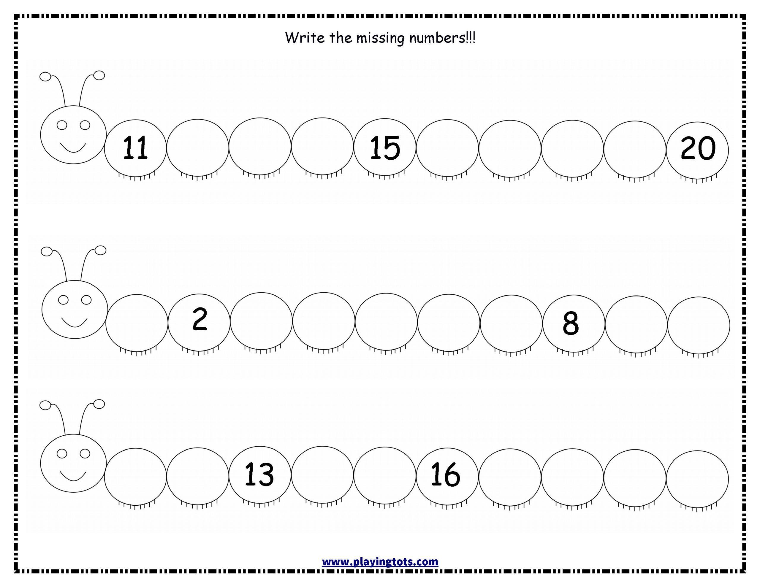 3 Printable Counting Worksheet Worksheet Write M In