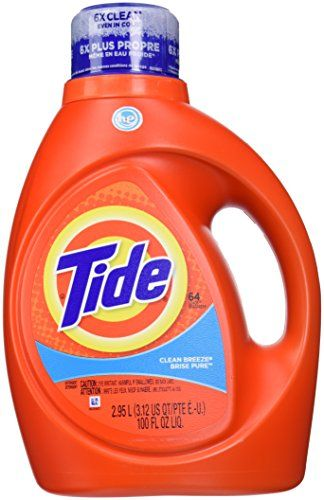 Tide He Liquid Laundry Detergent Clean Breeze 100 Fl Oz Tide Http Www Amazon Com Dp B00hz6x Scented Laundry Detergent Laundry Liquid Tide Laundry Detergent