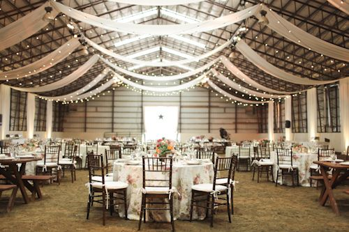 Country Barn Wedding Meets City Chic Wedding Venue And Decor