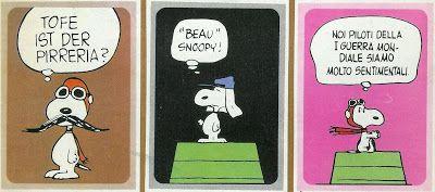 Abbracci e pop corn: Peanuts