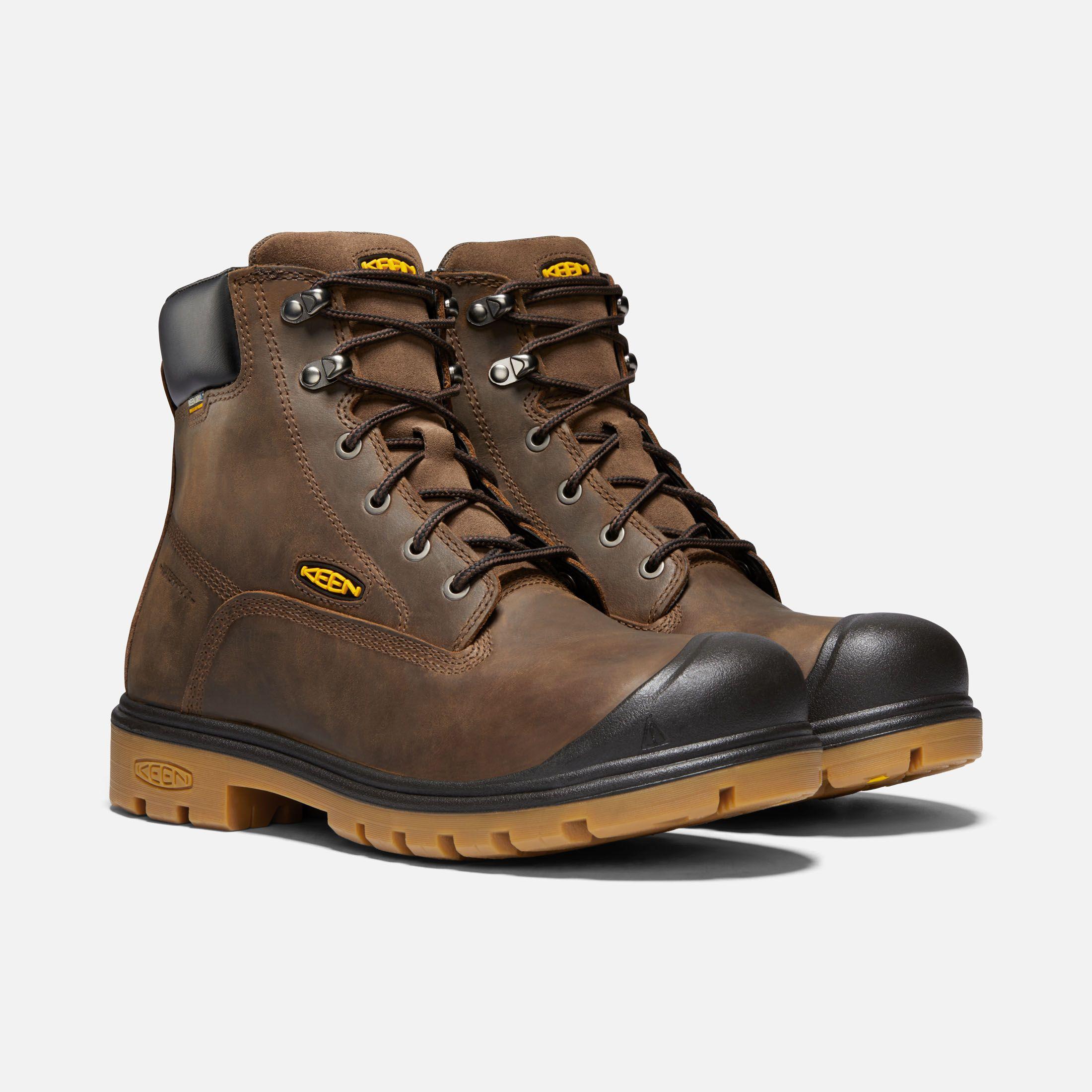 Keen Men S Waterproof Boots Baltimore 6 Soft Toe 9 Wide