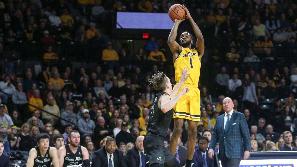 Wichita State S Markis Mcduffie Has Always Been The Youngest And Skinniest Player On Basketball Tea Wichita State Basketball Teams American Athletic Conference