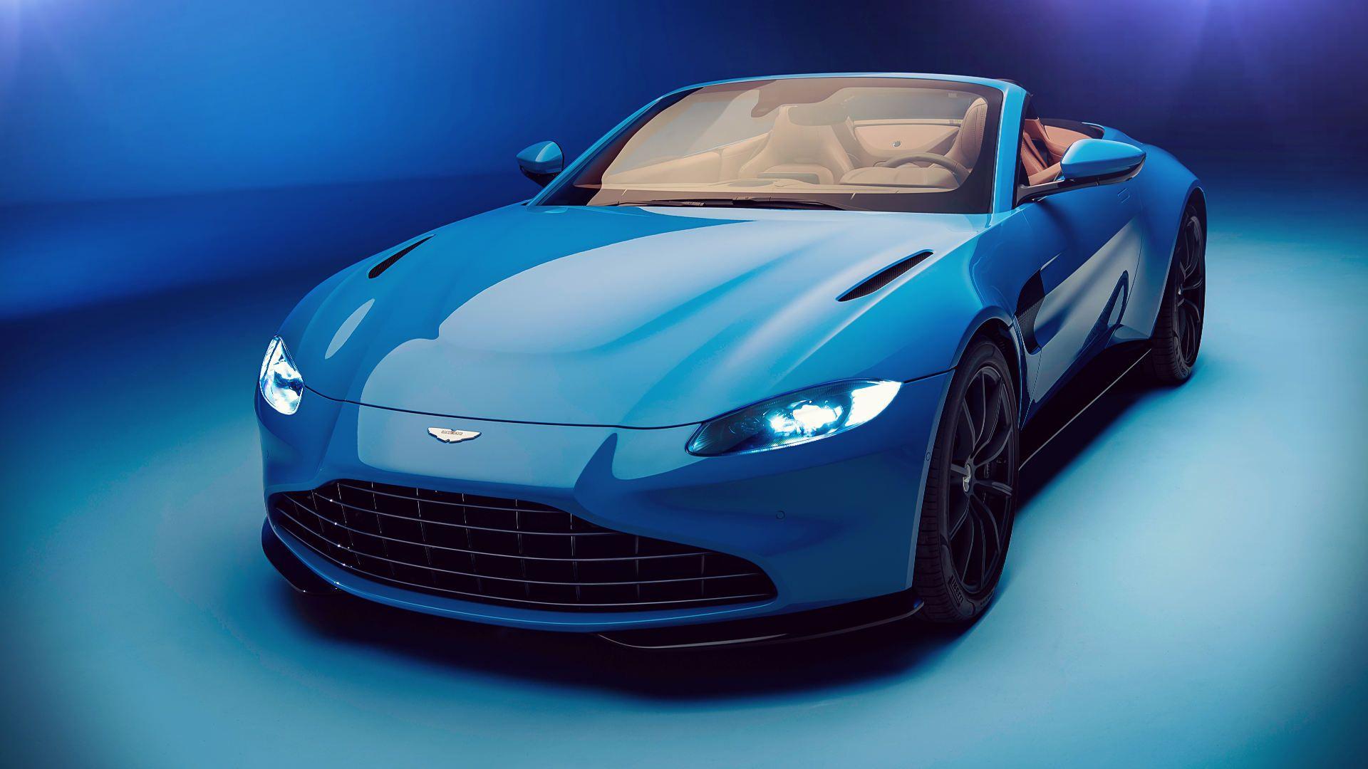 Aston Martin Vantage Roadster 2021 Wallpaper in 2020