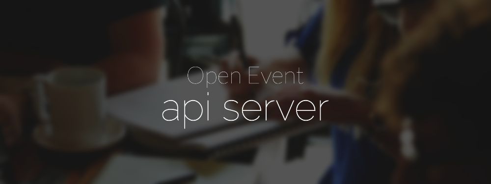 The Open Event Organizer Server to Manage Events https