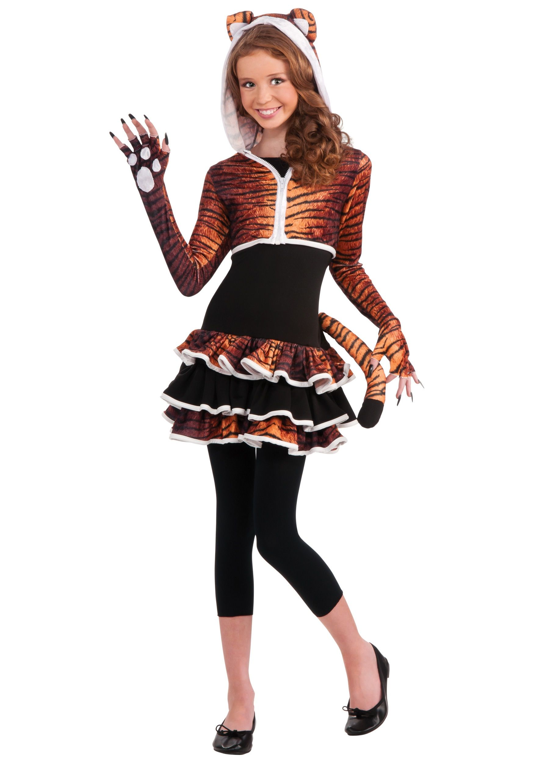 Tween Tigress Costume | Tween costumes, Bug costume and Tween