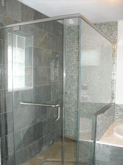 Shower Doors Frameless Glass Glass Shower Enclosures Custom