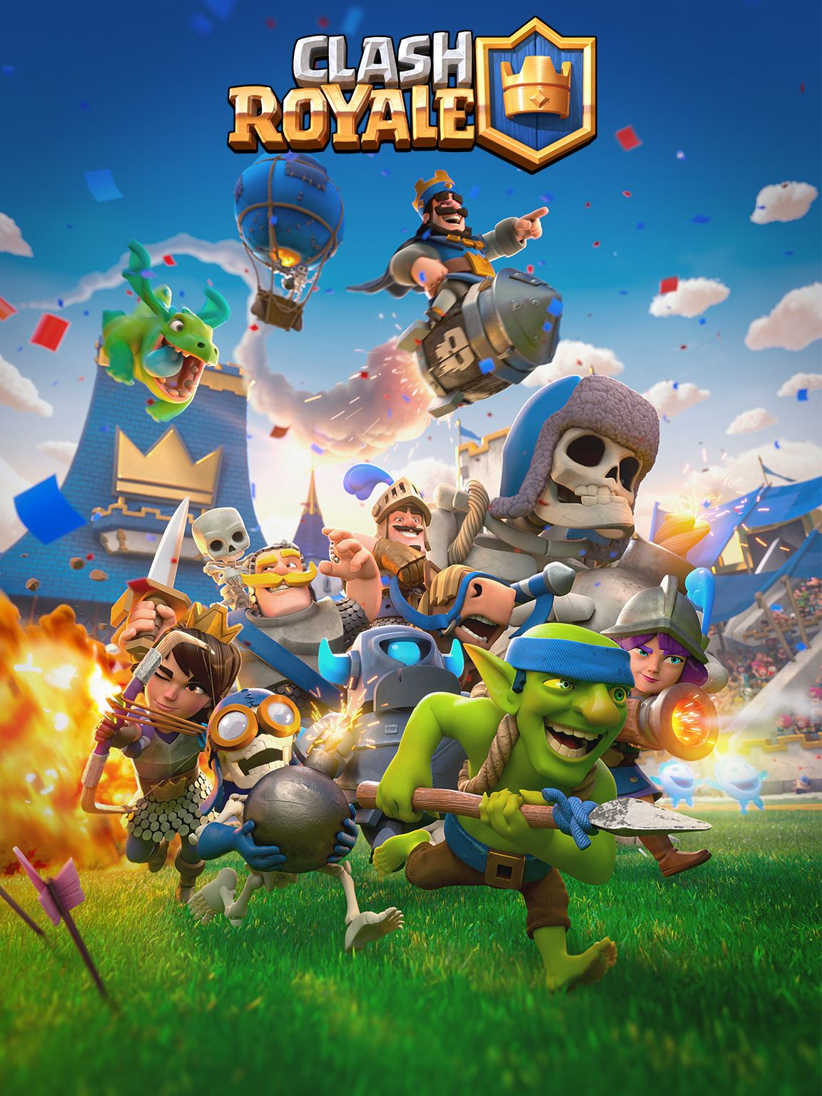 For Media Supercell In Clash Royale Clash Royale Wallpaper Clash Royale Personajes