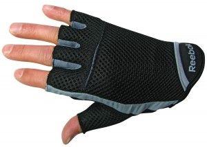 2. Reebok Men's Fitness Gloves