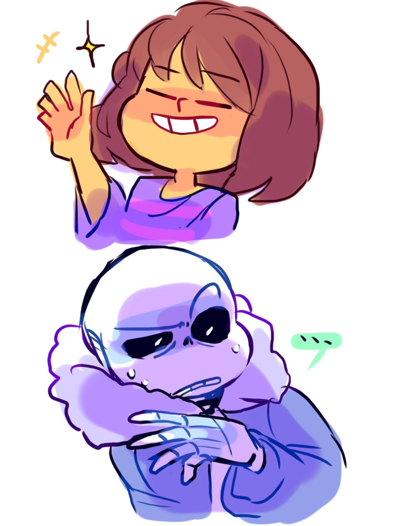 """ttoba: """" """"*…rUDE """" What if """"In skeleton culture, this is considered a dick move."""" Also, I really wanted to see offended/annoyed Sans. """""""