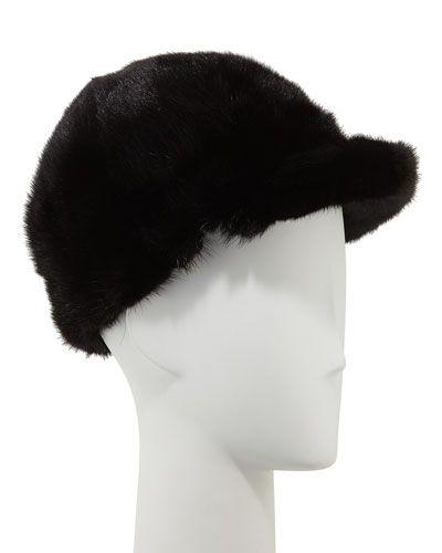 dd089decdb9 SURELL MINK FUR JOCKEY HAT