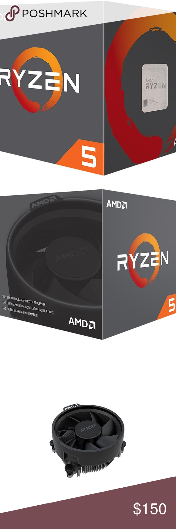 Amd Ryzen 5 2600 6 Core 3 4 Ghz Processor Amd Ryzen 5 2600 6 Core 3 4 Ghz 3 9 Ghz Max Boost Socket Am4 65w Yd2600bbafbox Desktop Processor Amd Processor Ddr4