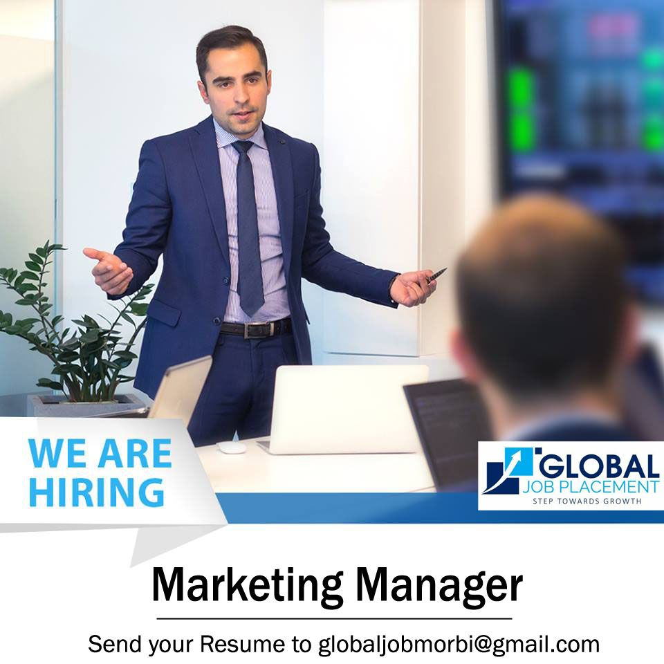 Urgently Opening for the post of Marketing in Ceramic