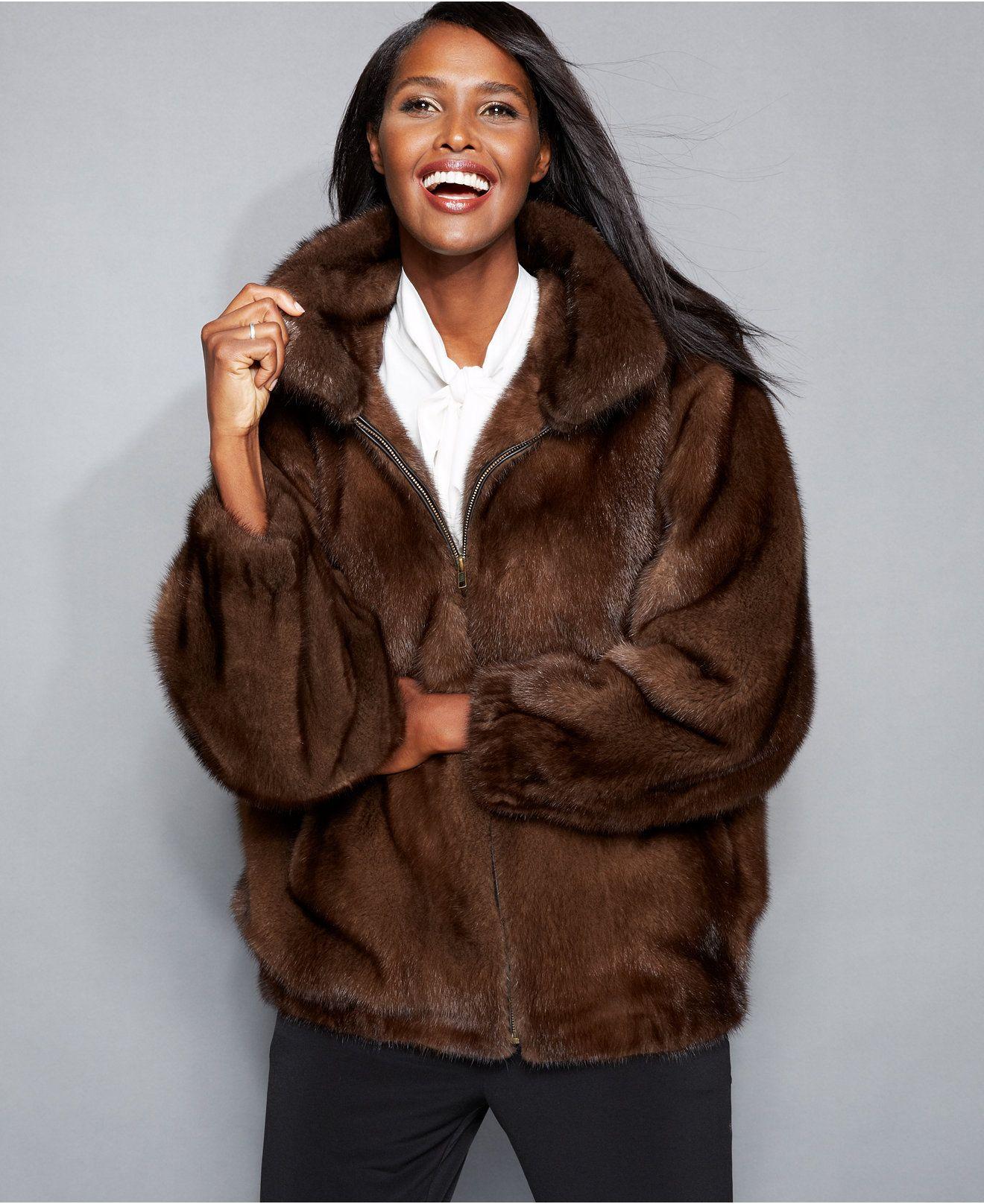 sheared mink bomber jacket for women - Google Search  0e8c9c27787
