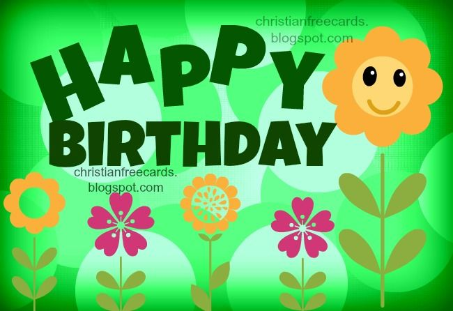 Happy Birthday You Are Special Free Christian Cards Happy