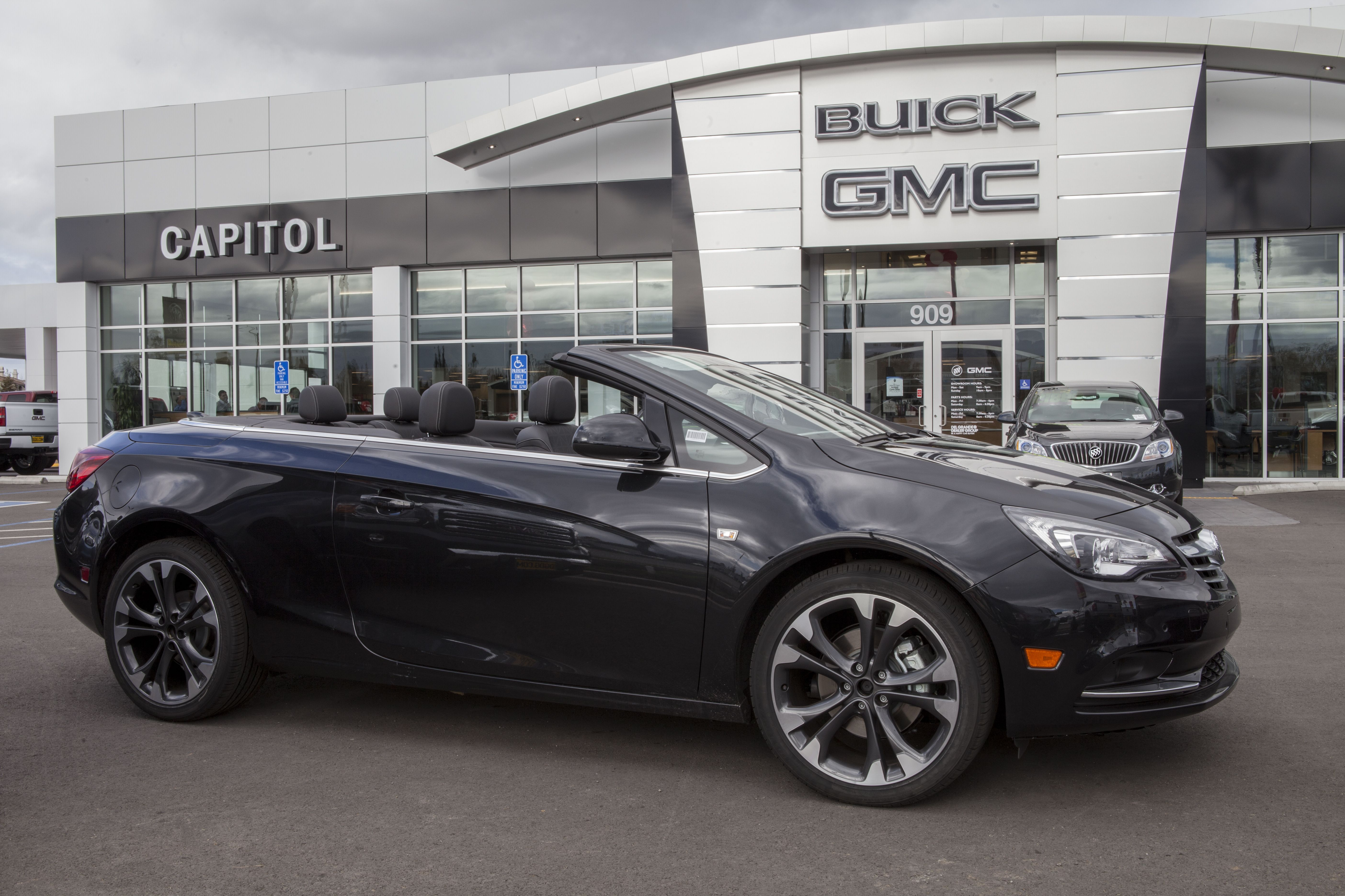 e check out the new BuickCascada in our showroom at