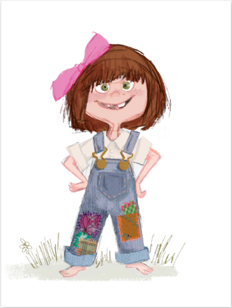 pixar drawing of young ellie from up my 7yrold looks a