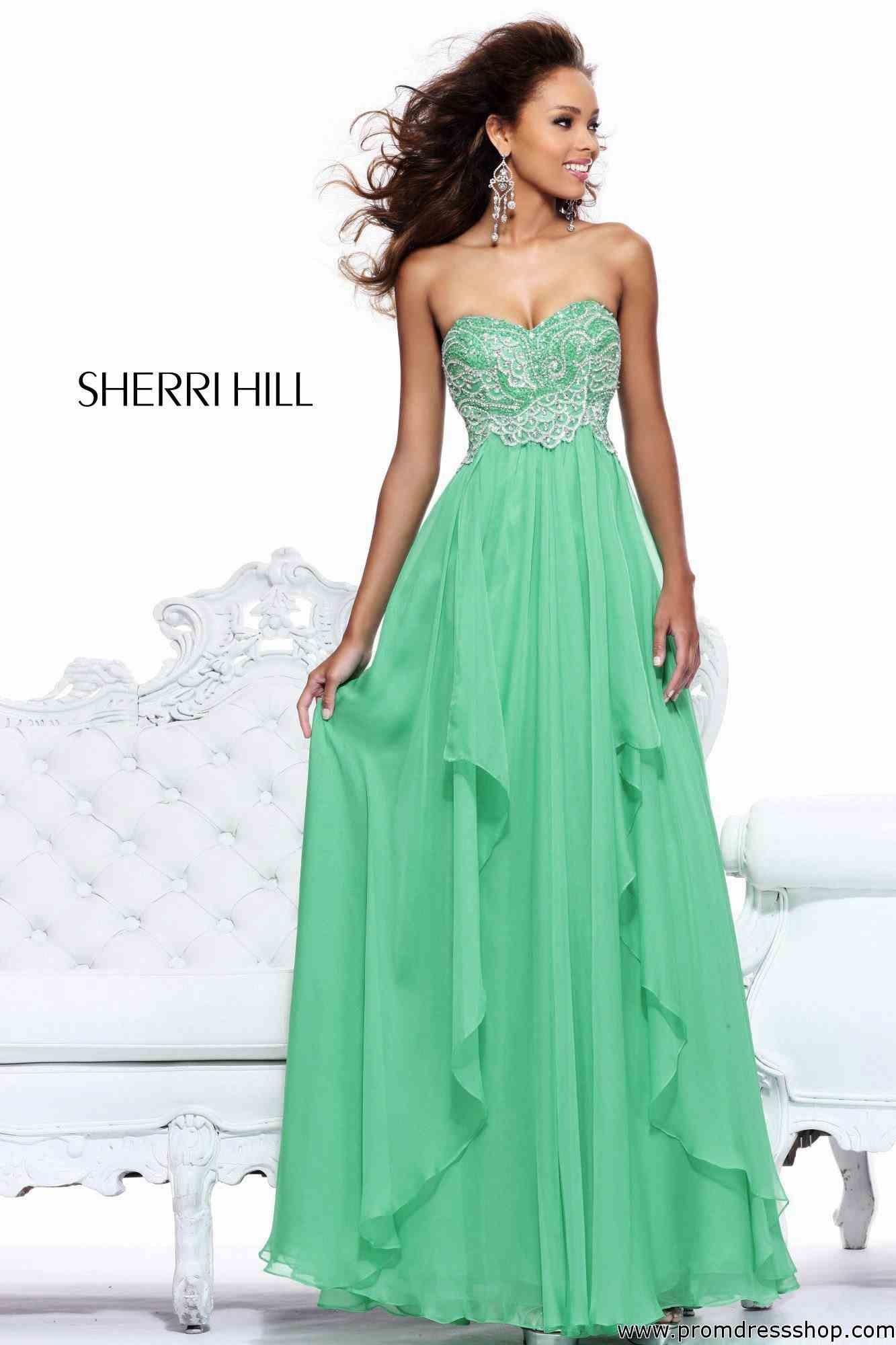 3105e1e0c05e Sherri Hill Sweetheart Neckline Beaded Dress 3874 | Lauren's Prom ...