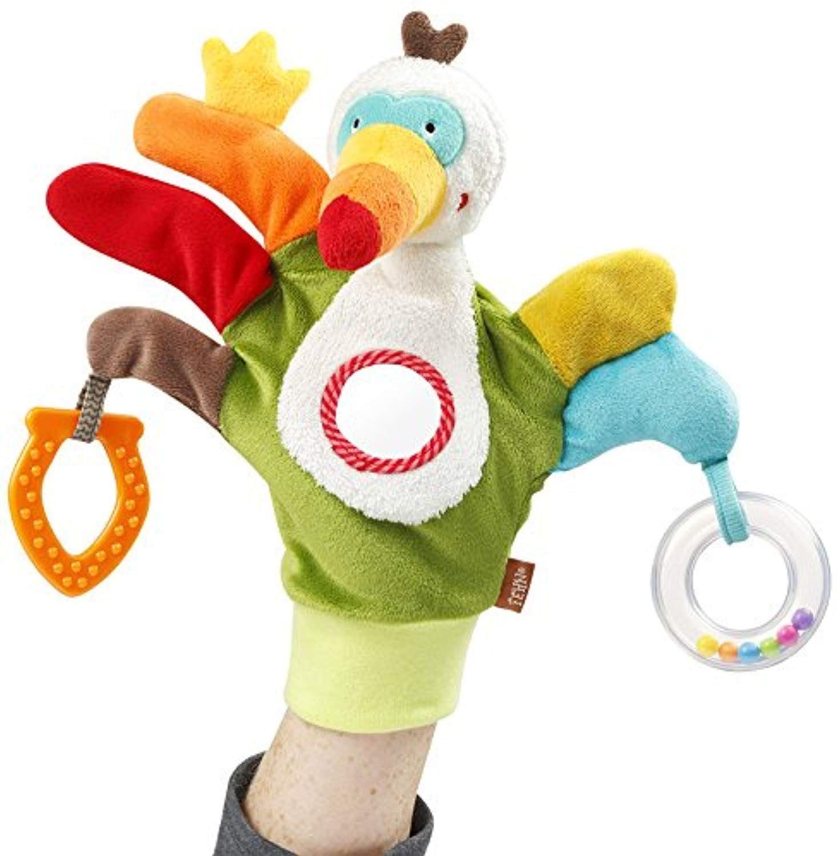Der Spielzeugtester hat sich das Fehn 067675 Spielhandschuh