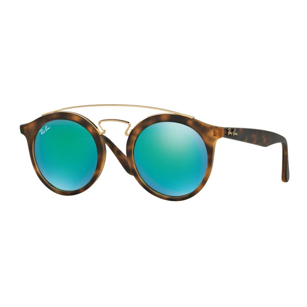 cb6445b2af Protect your eyes in a stylish manner with these Ray Ban sunglasses with  mirrored lenses!