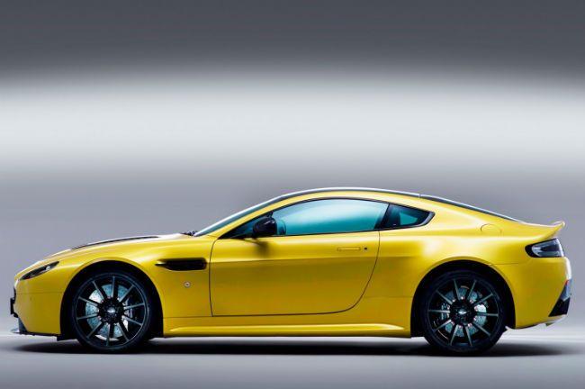 2016 Aston Martin V12 Vantage Yellow Aston Martin Pinterest