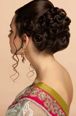 Top 8 Indian Party Hairstyles Indian Wedding Hairstyles Indian