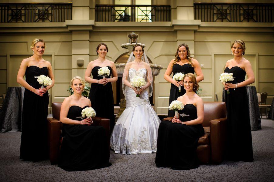 Denie | Brideside wedding feature, Rose Garden Ballroom, Robertson's Flowers & Events, Joe Dantone Photography