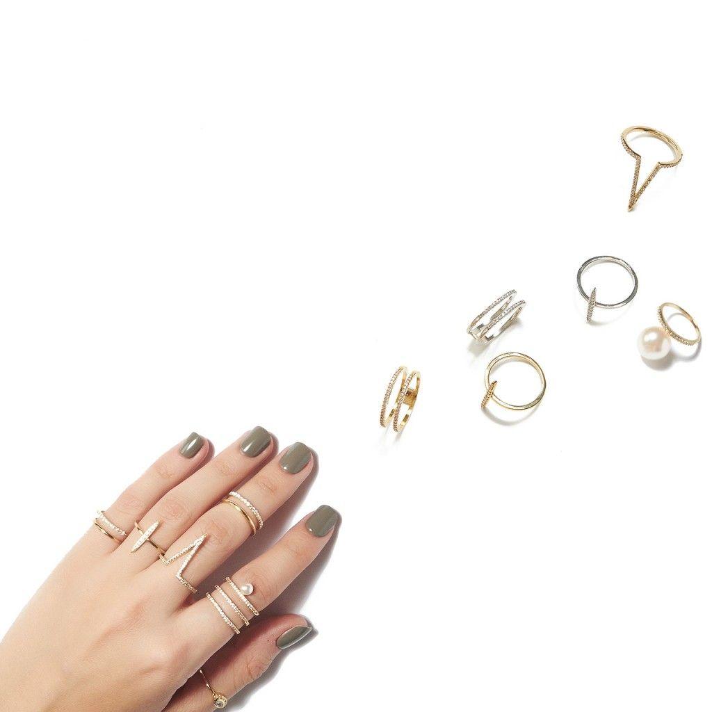 Pave Venus Ring