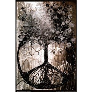 Amazon.com: (24x36) David Wolcott Wilhelm (Tree of Peace) Art Poster Print: Home & Kitchen