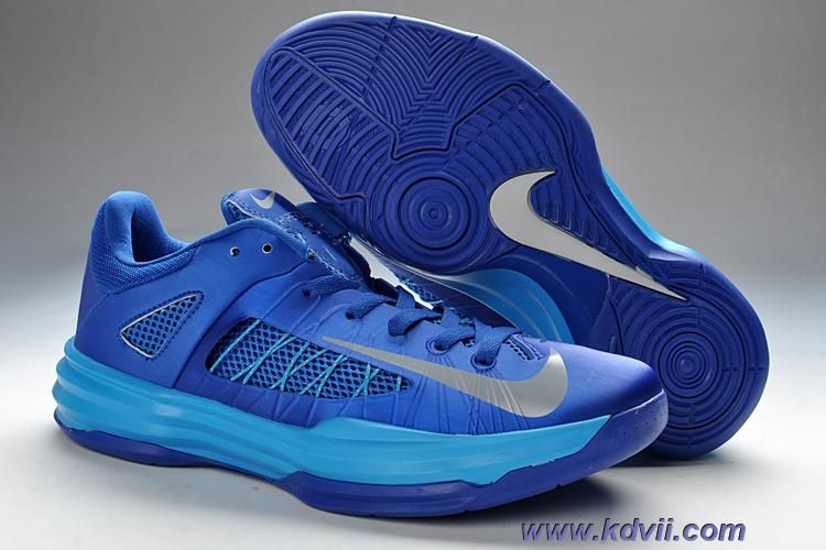 Buy Discount Nike Hyperdunk 2012 Low 2013 Lunar White Royal Blue