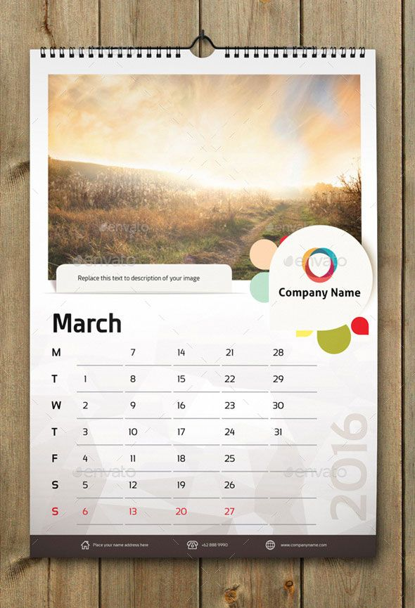 21 Best Calendar Templates For 2016 Calendars 2016, Template and - office calendar templates