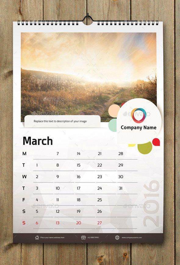 21 Best Calendar Templates For 2020 Kalender Desain