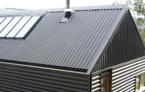 Fibre Cement Roofing Slate Look B5 Cembrit Limited Corrugated Roofing Corrugated Metal Roof Roof Cladding