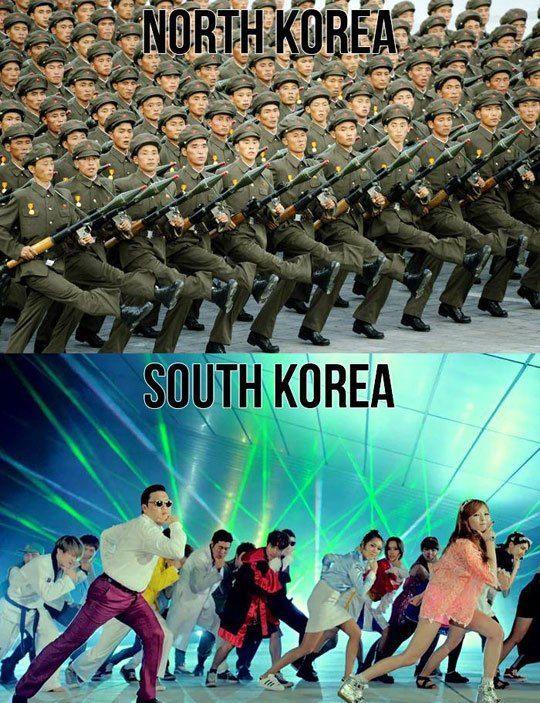 North Korea And South Korea Kim Jong Un Memes North Korea South Korea