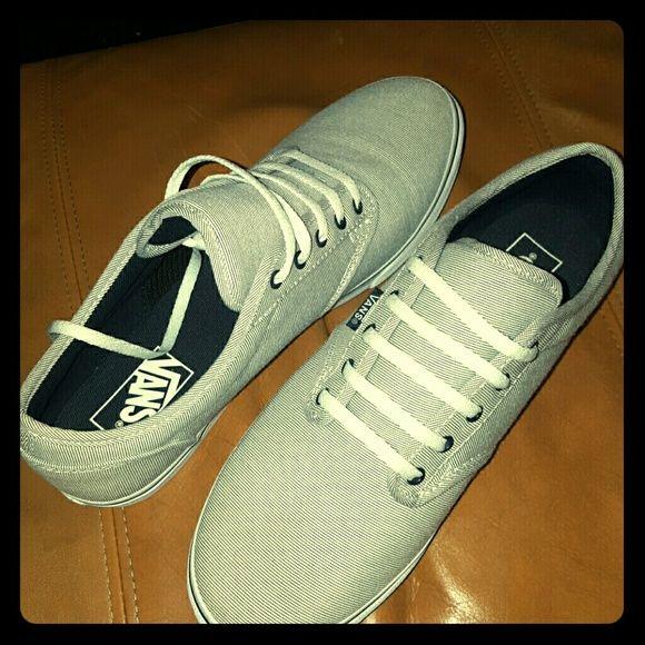 Vans sneakers NWOT only worn once or twice Vans Vans Shoes Sneakers