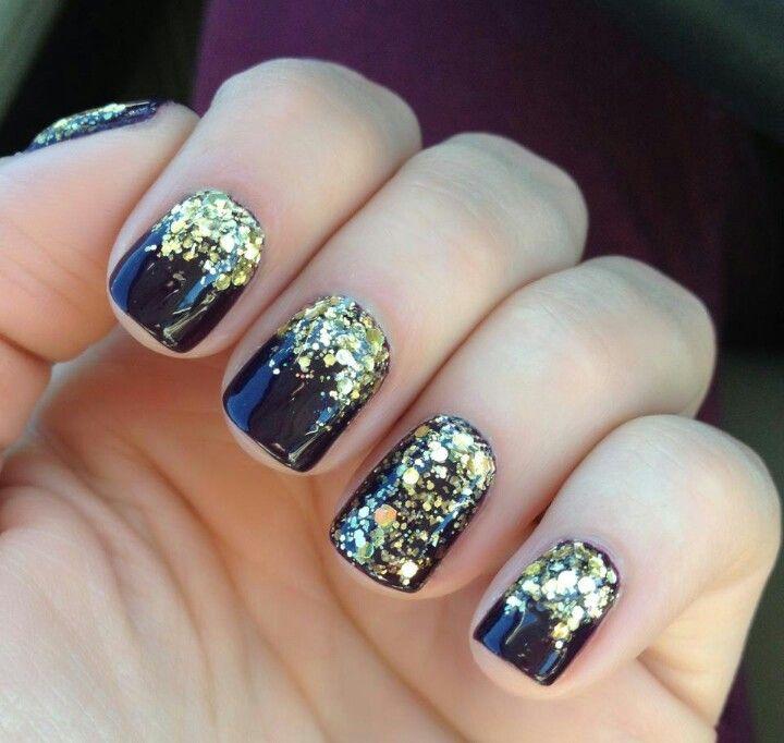 Sparkle overlay and clack polish | swag digits | Pinterest | Overlay ...