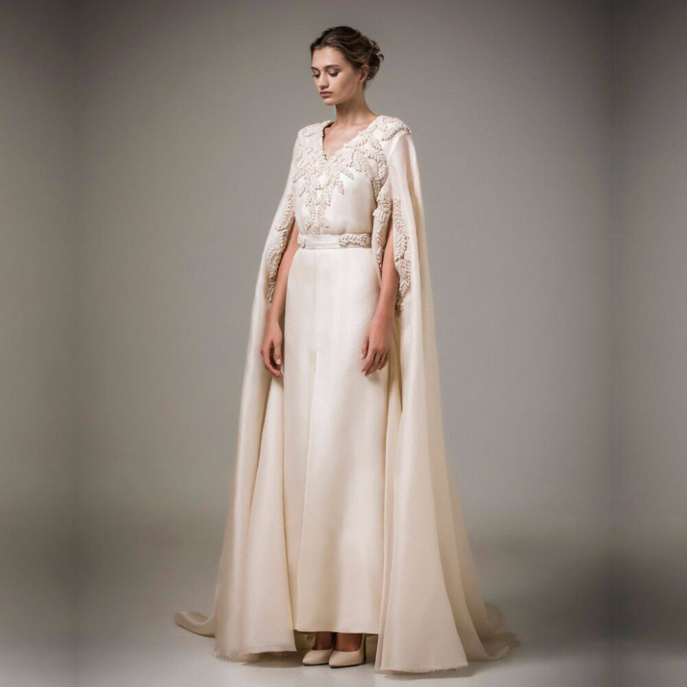 Image result for Muslim Champagne Evening Dress Long Arabic Kaftan ...