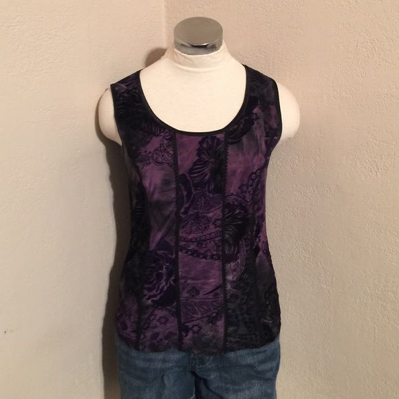 Purple tank size small Purple tank size small.   trades  fast shipping ☑️ accepting offers Tops Tank Tops