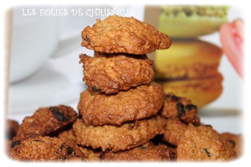 cookies avoine raisins thermomix ou pas les folies de christalie ou quand la cuisine. Black Bedroom Furniture Sets. Home Design Ideas
