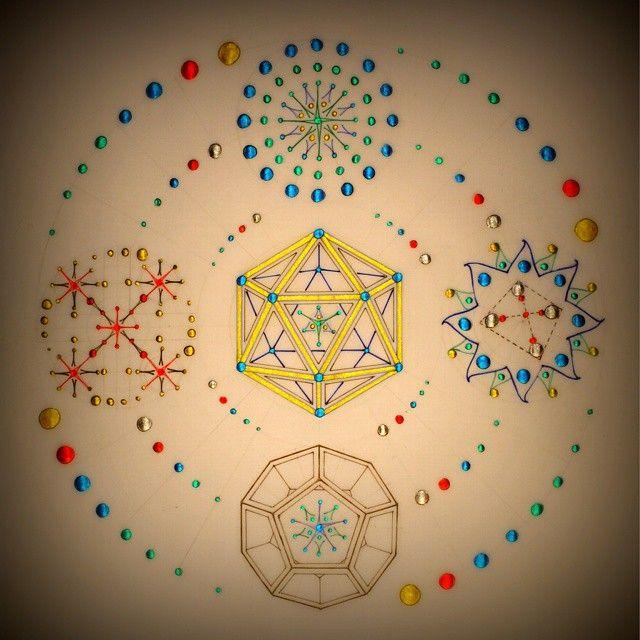 The Fifth Protocol #sacredgeometry #mandala #platonicsolids #icosahedron #awakening #fractal #fibonacci #colloidalsilver #mantra #astrology #alchemy #imagine #medicine #healingmagic