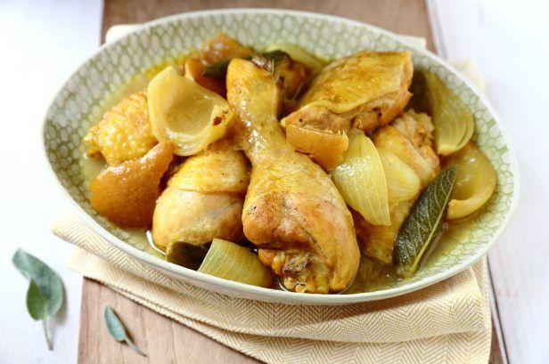 Poulet au citron confit et à la sauge | Recette (avec ...