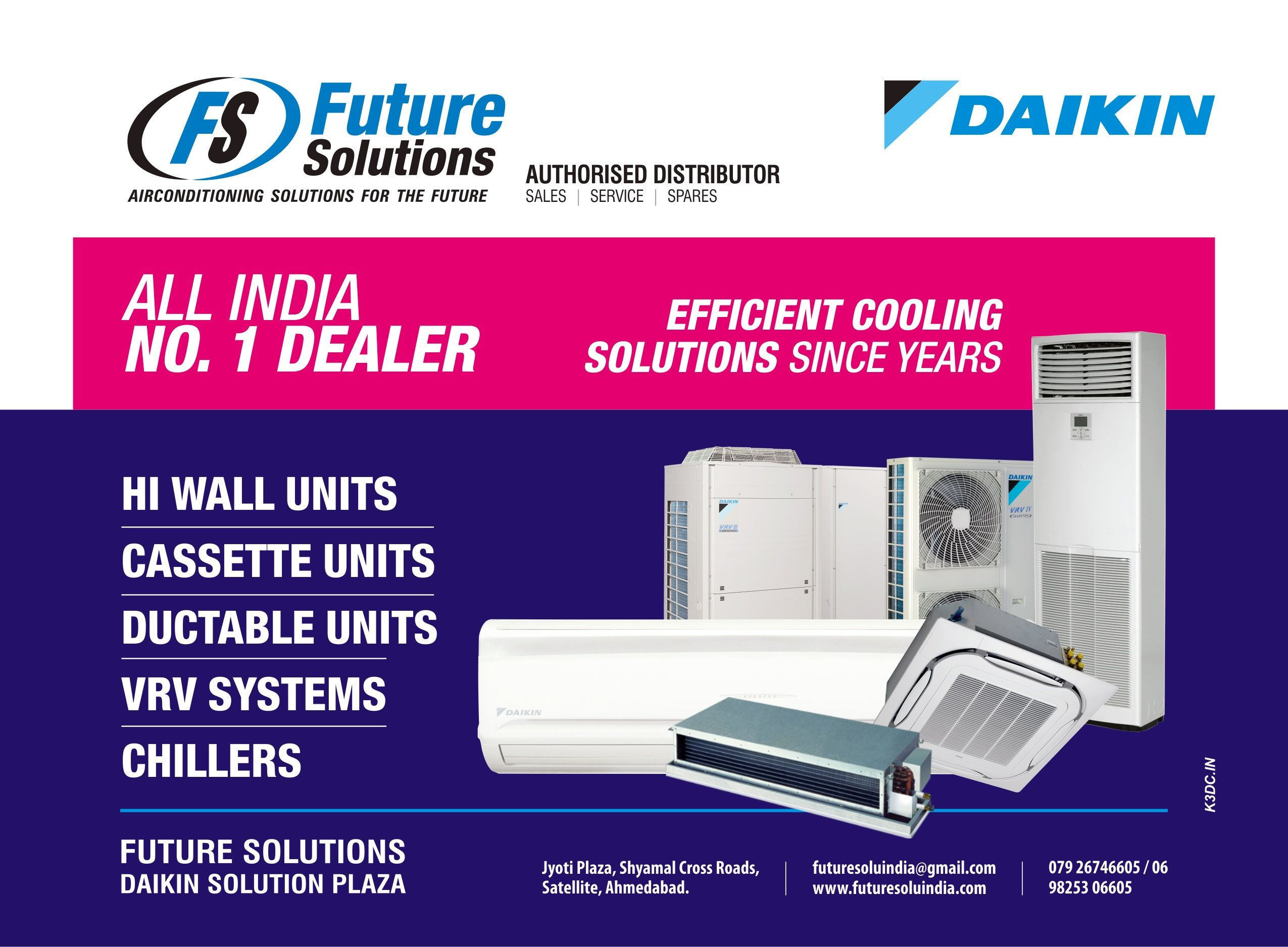 Future Solution Is Took Up Daikin Dealership And Air Conditioning