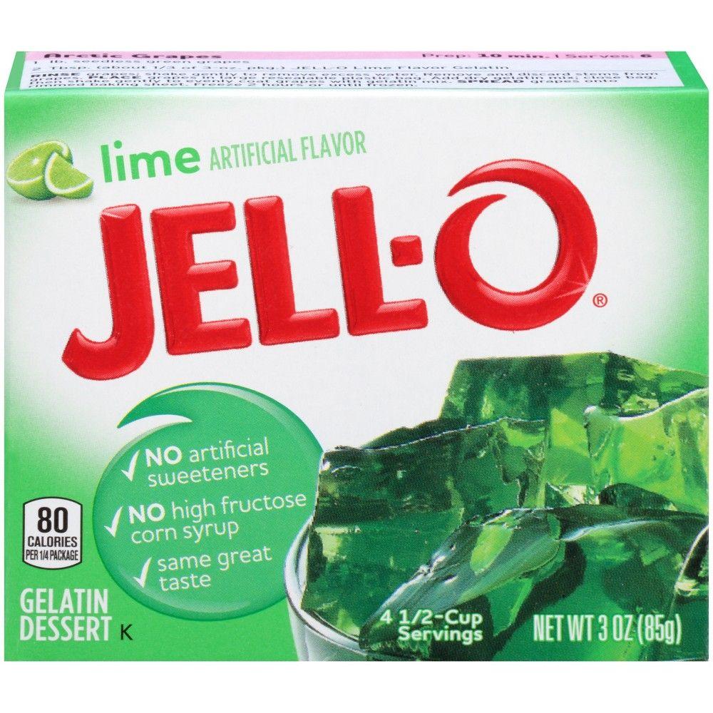 Jell-O Lime Gelatin - 3oz In 2019