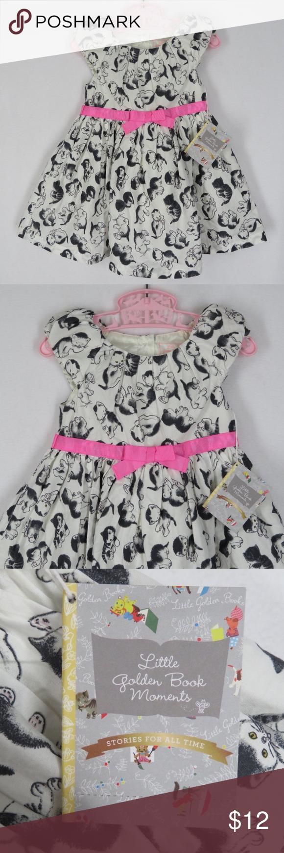 d61137f94 Shy Little Kitten Dress Golden Book Moments 2T ADORABLE Shy Little Kitten  toddlers dress by Little